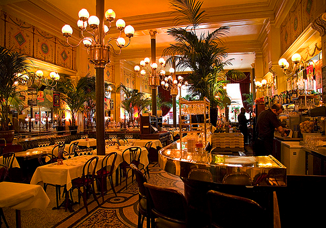 Around town le grand colbert paris france a dash of for Le miroir resto paris