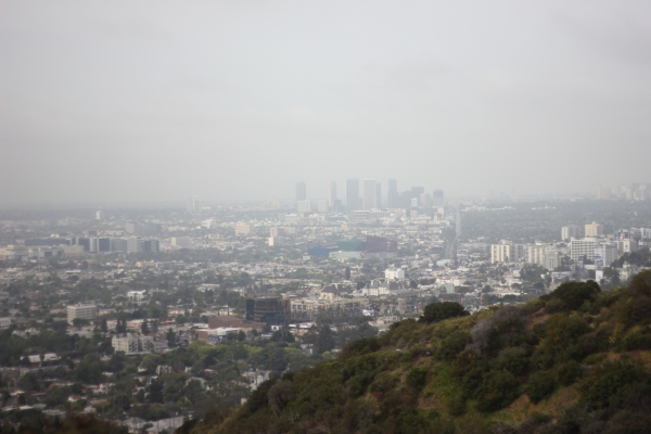 Cloudy Morning on Runyon