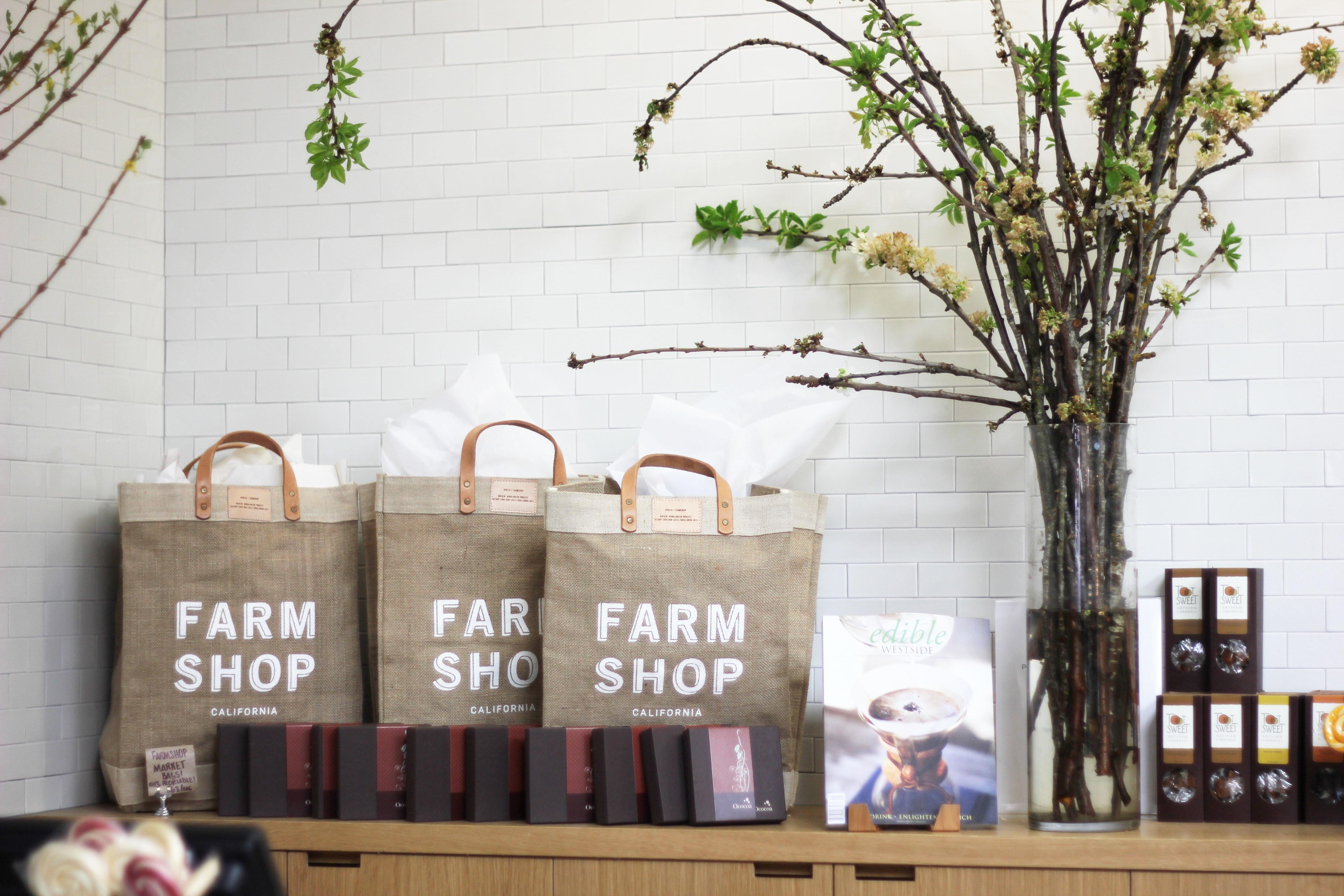Around Town: Farmshop, Santa Monica   A Dash of Cinema