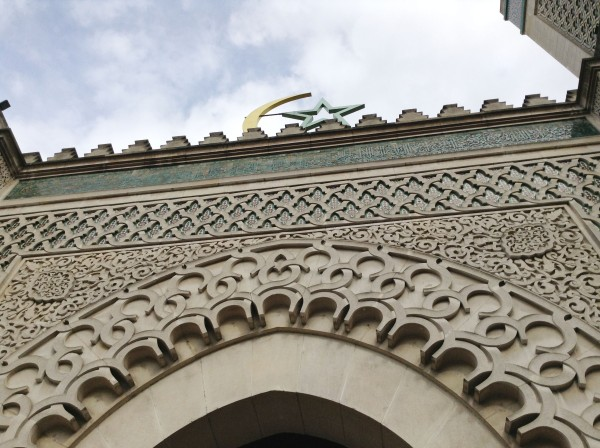 Star and Moon on Paris Mosque - 1