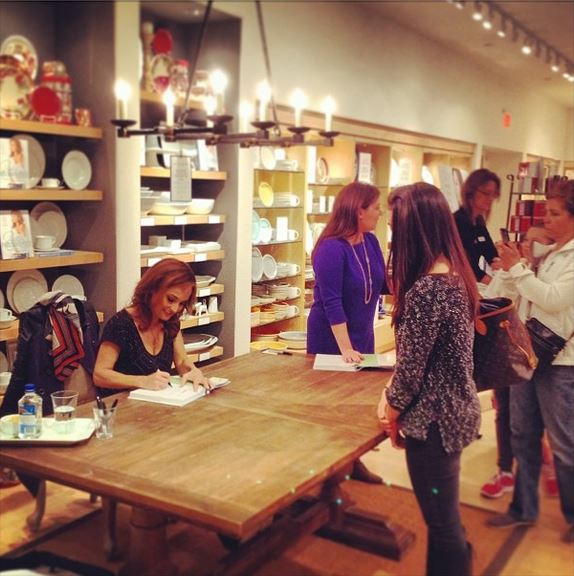 Giada Book Signing at Williams Sonoma