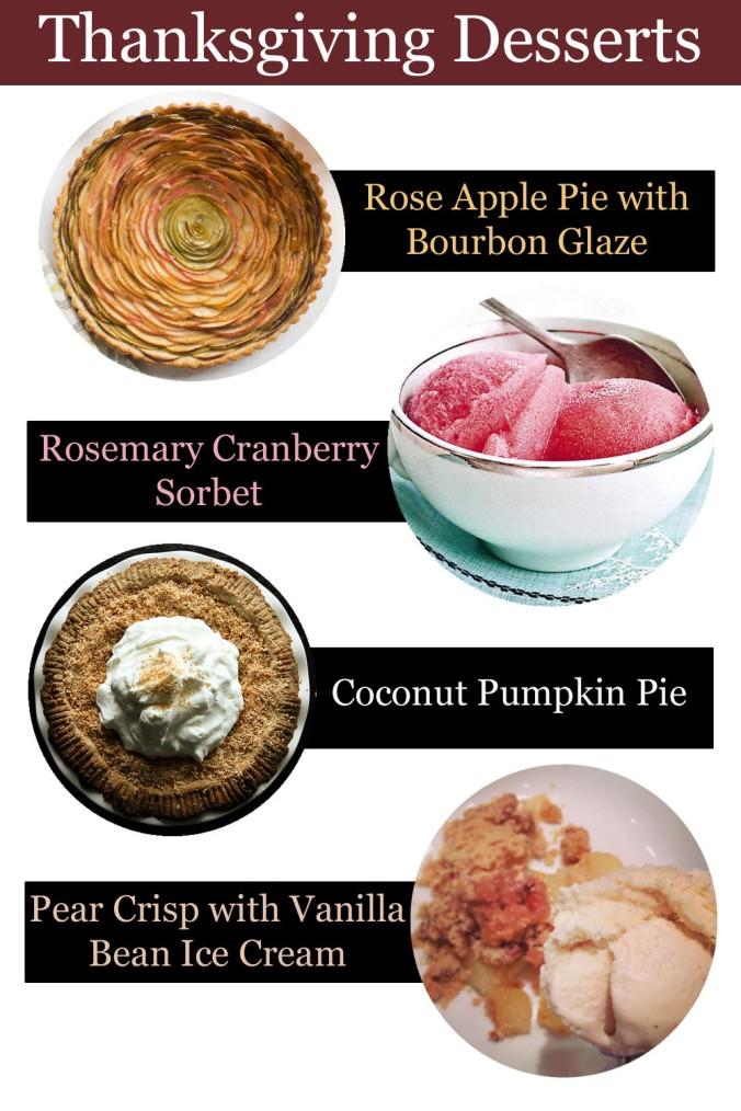 Thanksgiving Desserts