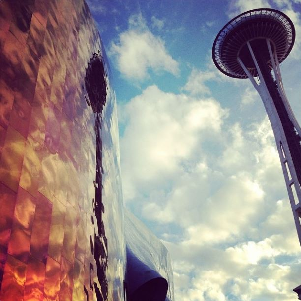 space needle and emp