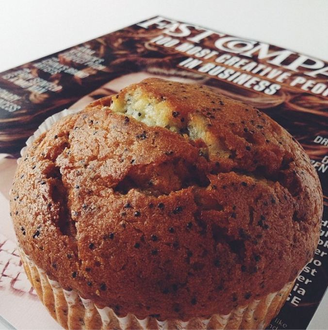 muffin and reading