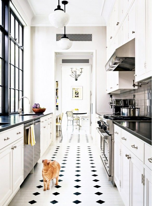 10 Favorite Black and White Kitchens | A Dash of Cinema