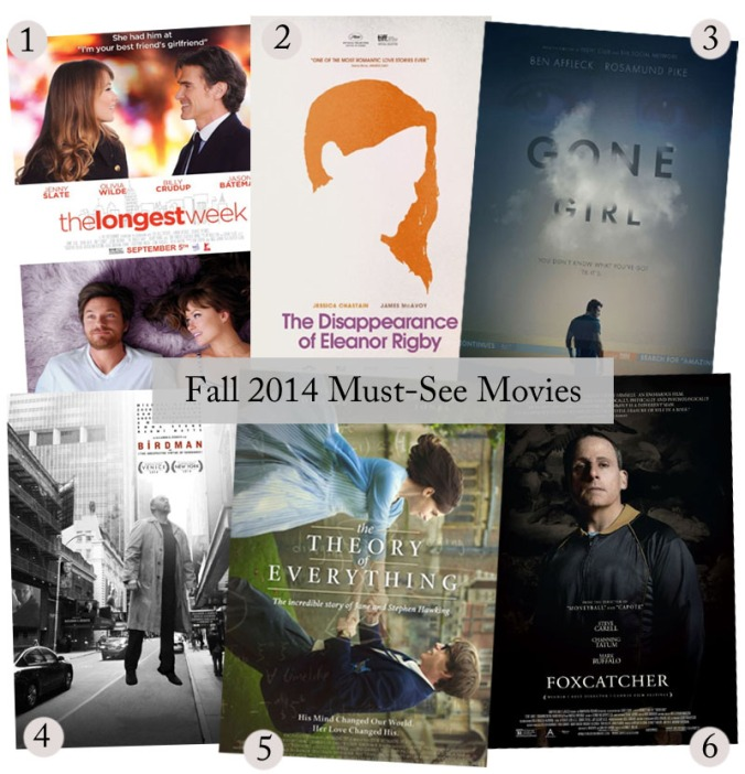 fall must see movies
