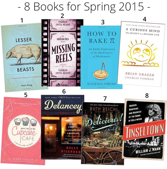 books spring 2015